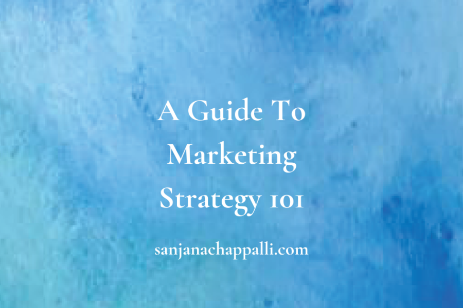 Marketing Strategy 101 guide